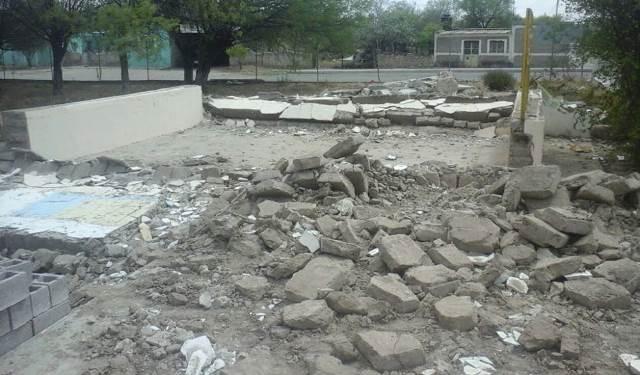 ¡Albañiles fueron aplastados en Cañitas, Zacatecas: 1 muerto y 1 lesionado!
