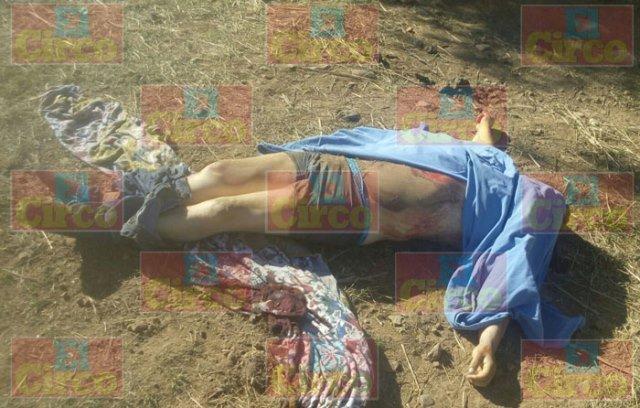 ¡Parcialmente enterrado y amarrado encontraron a un ejecutado en Sombrerete, Zacatecas!