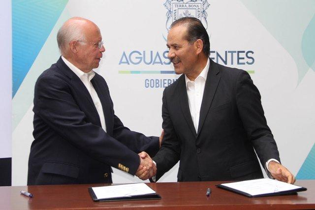 ¡Gobierno del Estado y Secretaría de Salud suscriben importantes acuerdos a favor de aguascalentenses!