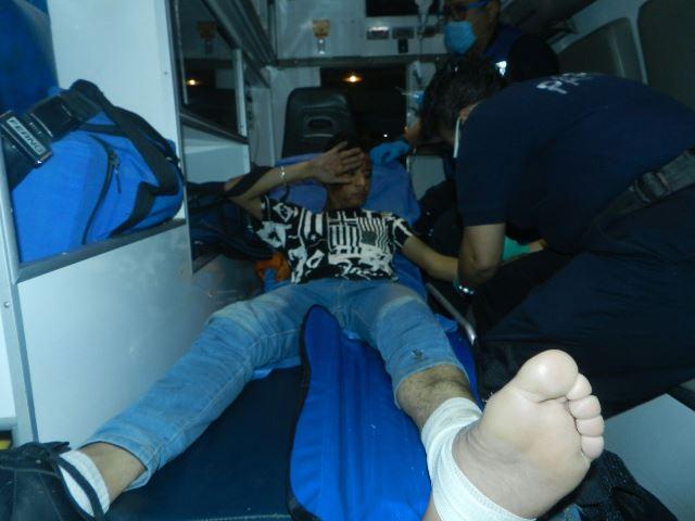 ¡Joven fue baleado durante una fiesta en Aguascalientes!
