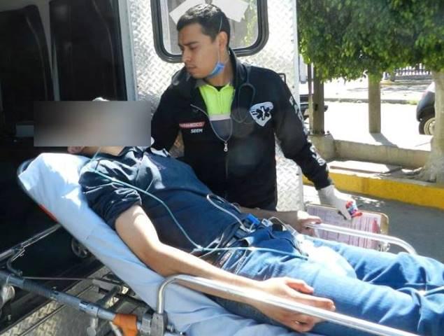 ¡Grave joven apuñalado al ser asaltado en Aguascalientes!