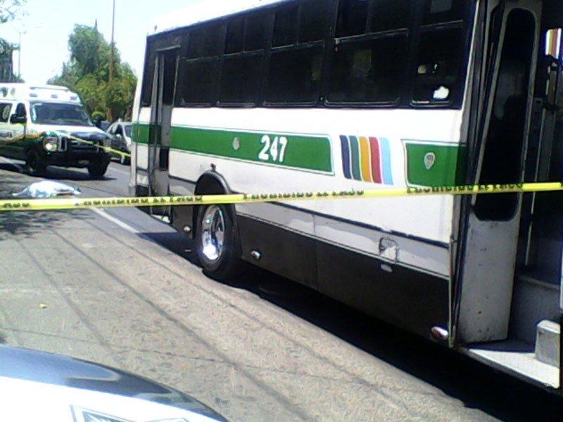 Fotos/¡Camión urbano atropella y mata a discapacitado en Aguascalientes!
