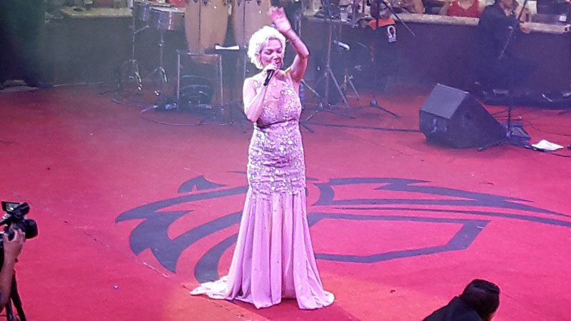 GALERIA/¡Marisela se presentó en el Palenque de la FNSM en Aguascalientes!