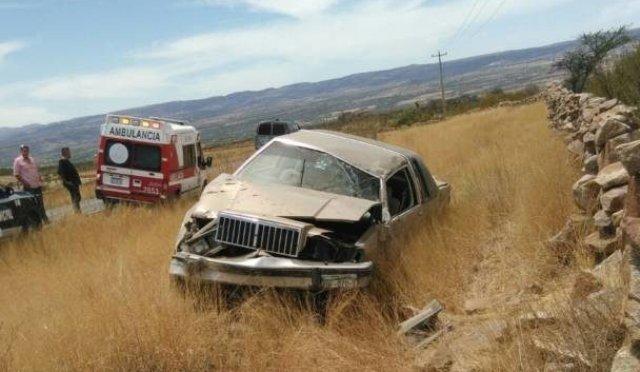 ¡Hombre falleció tras la volcadura de un automóvil en Aguascalientes!