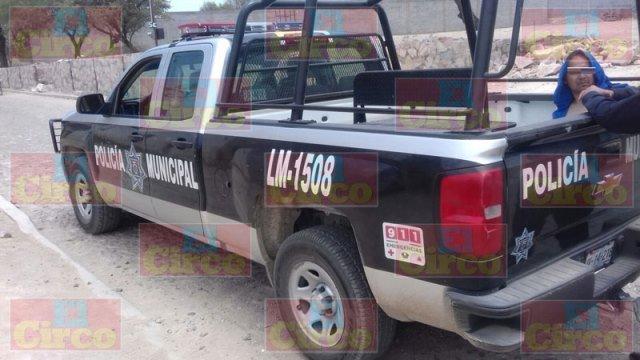 ¡Policías municipales detuvieron a un pistolero en Lagos de Moreno!