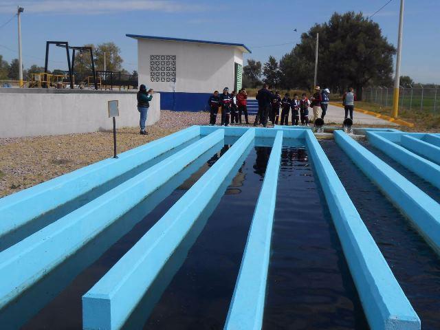 ¡Se riega con agua reutilizada la mitad de las escuelas de Pabellón de Arteaga!