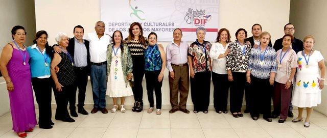 ¡Premia DIF Municipal a los ganadores de los XIII Juegos Municipales Deportivos y Culturales de las personas adultas mayores!