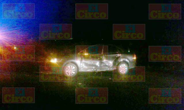 ¡Choque entre un auto y una camioneta dejó 3 lesionados en Lagos de Moreno!