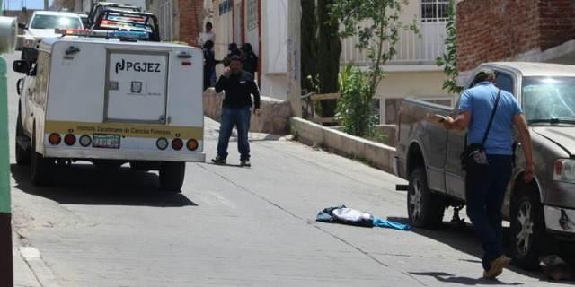 ¡Grave joven que recibió un balazo en el cuello en Zacatecas al intentar ejecutarlo!