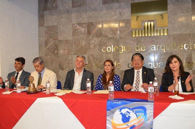 ¡Presenta Patronato de la FNSM programa de actividades ante Rotarios!