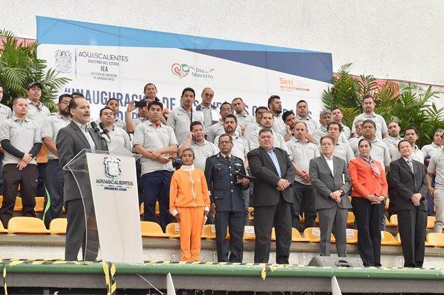 ¡Aguascalientes, primer estado del país en el que ya no existen maestros comisionados: MOS!