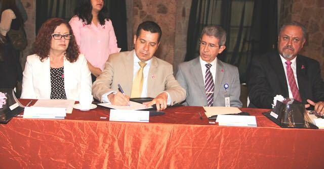 ¡ISSEA reinstaló Comité Estatal de Cáncer!