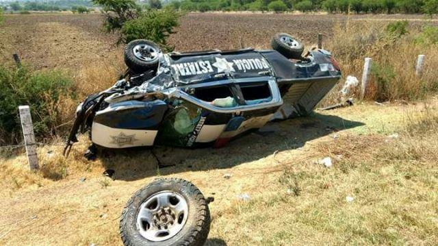 ¡1 muerta y 8 lesionados tras impresionante accidente en Zacatecas!