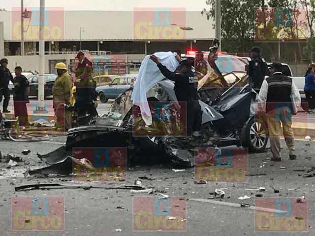 ¡Fuerte choque en Fresnillo dejó 1 mujer muerta y 3 lesionados, 2 graves!
