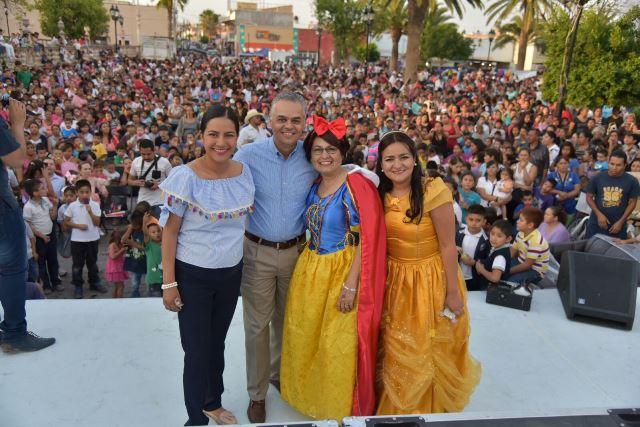 ¡Celebraron en Jesús María a las mamás y a los niños con festejos en todo el municipio!