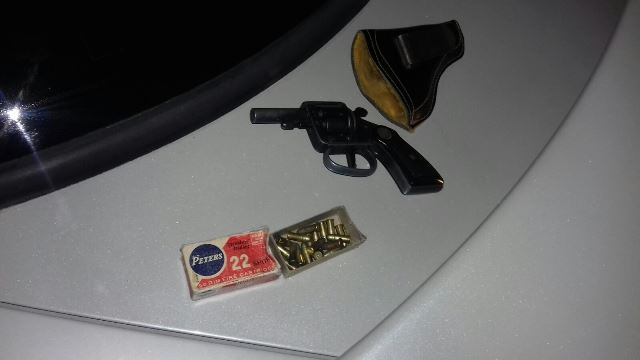 ¡Detuvieron a 2 sujetos con un arma de fuego y cartuchos en Aguascalientes!
