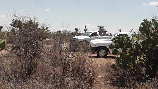 ¡Ejecutaron a 2 individuos en Ojocaliente, Zacatecas, y tiraron sus cuerpos afuera del panteón!