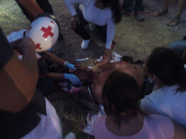 ¡Extranjeros alcoholizados provocaron accidente en Aguascalientes y dejaron 1 lesionado grave!