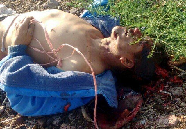 ¡Ladrillero fue asesinado a golpes en Aguascalientes!