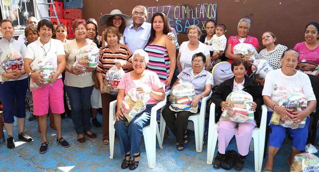 ¡Bienestar de los abuelitos una prioridad para Tere Jiménez!
