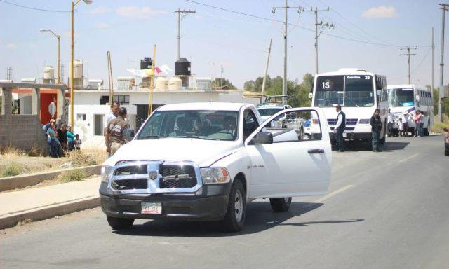 ¡Jovencito fue atropellado y lesionado por una patrulla de la Policía Ministerial en Guadalupe, Zacatecas!