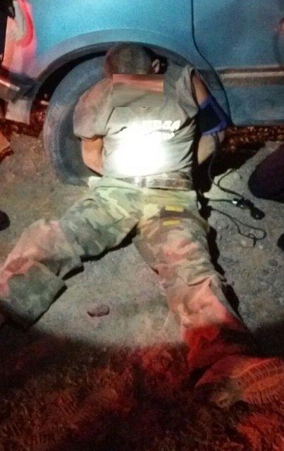 ¡Sujeto se enfrentó a balazos con policías preventivos de Calvillo, Aguascalientes, y fue detenido!