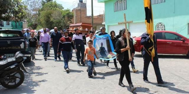 ¡Dieron el último adiós al adolescente atropellado y muerto por una patrulla de la Policía Ministerial en Guadalupe, Zacatecas!
