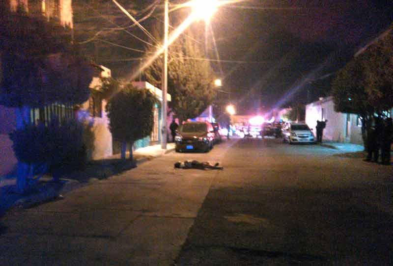 ¡Ejecutaron a delincuente en el fraccionamiento La Estancia en Aguascalientes!