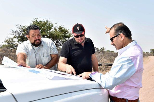 ¡El gobernador MOS realizó un recorrido de supervisión por la reserva territorial del gobierno del estado!