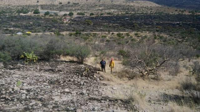 ¡Volvió a incendiarse el Cerro del Picacho en Aguascalientes; lo apagaron de inmediato!