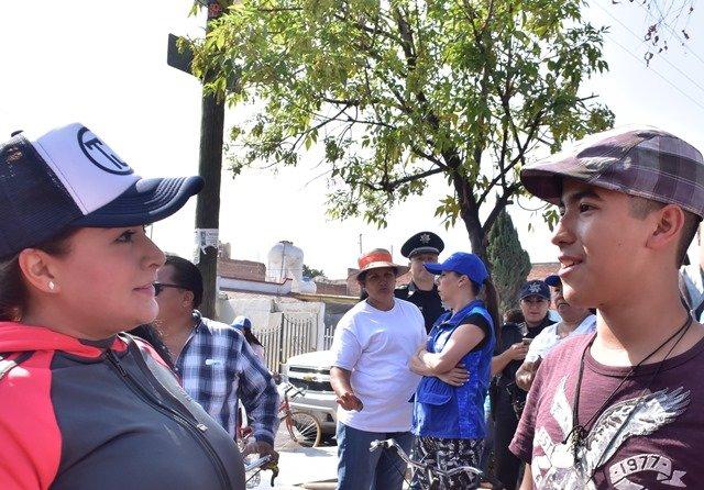 ¡Tere Jiménez reanudó los programas Todos Juntos en el Deporte y Todos Juntos Limpiemos Aguascalientes!