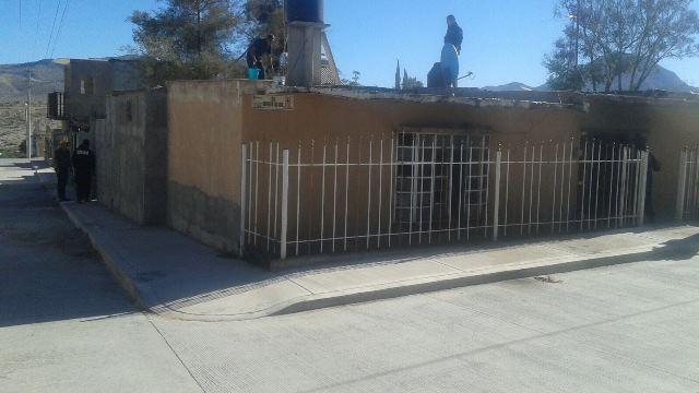 ¡Niña resultó con quemaduras tras un incendio en su casa en Aguascalientes!