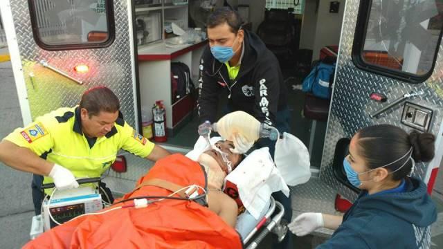 """¡Grave empleado de Bimbo atropellado por un auto """"fantasma"""" en Aguascalientes!"""