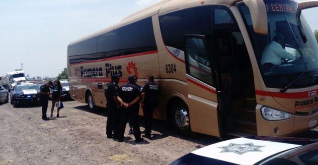 ¡Policías federales rescataron a una menor de edad que un sujeto se llevaba de Aguascalientes a la Ciudad de México!