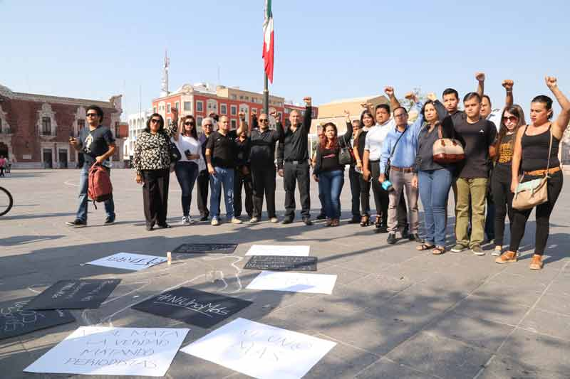 ¡Repudian reporteros de Aguascalientes el artero asesinato de Javier Valdez Cardenas!