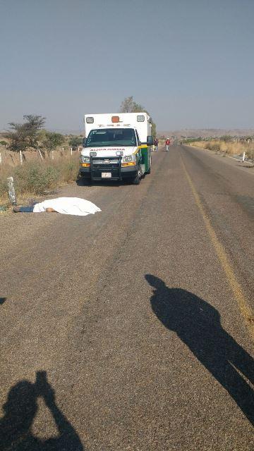 ¡Joven murió tras desvanecerse y caer de una motocicleta en Aguascalientes!
