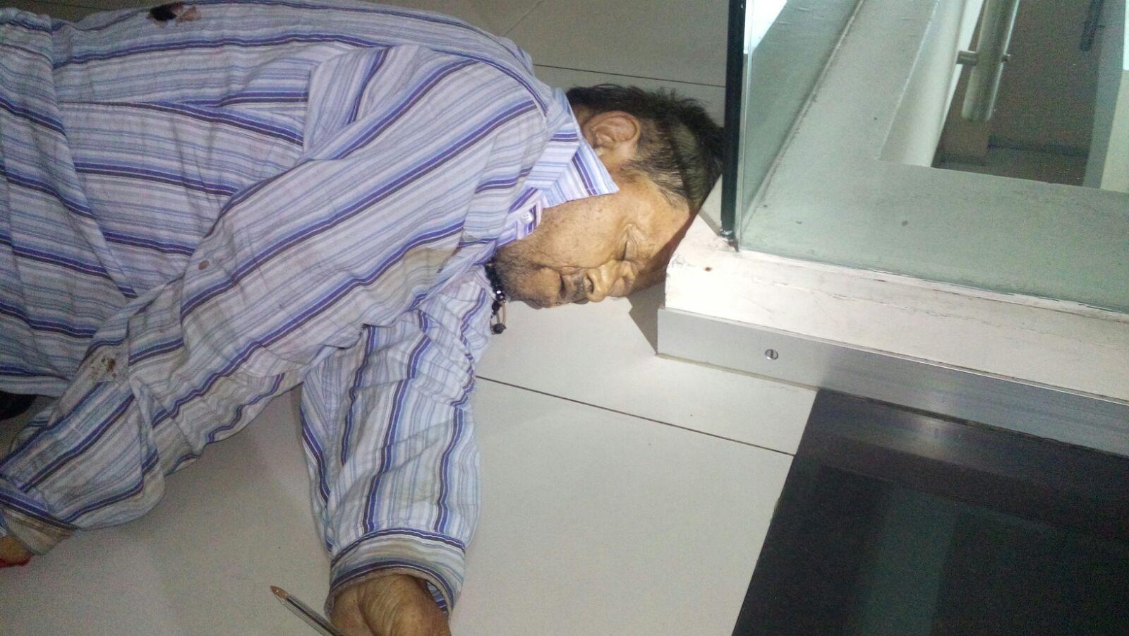 ¡Vigilante fue hallado muerto dentro de un banco en Aguascalientes!