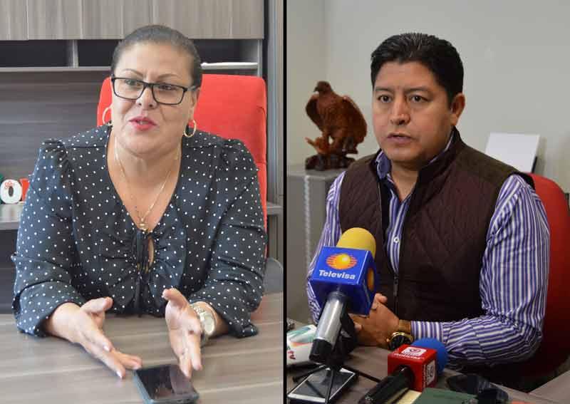 ¡Norma Esparza Herrera y Miguel Ángel Juárez Frías, priístas de poca memoria y mentirosos!
