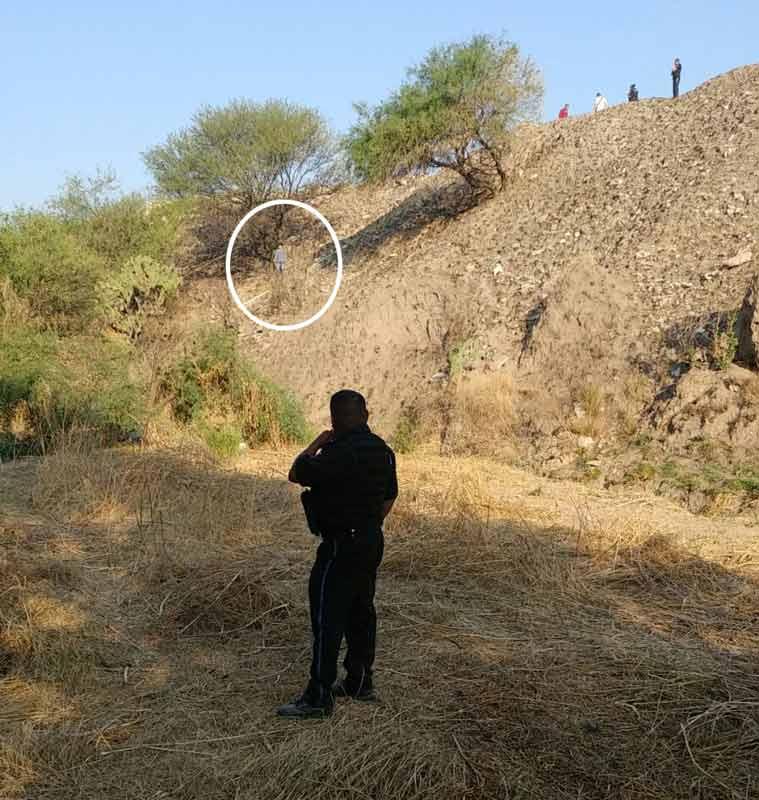¡Hombre se suicidó colgándose de la rama de un mezquite en Aguascalientes!