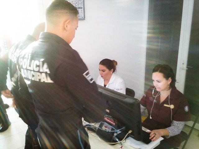 ¡Aplican examen toxicológico a policías de la Secretaría de Seguridad Pública Municipal!