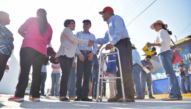 ¡Entrega Gobierno Municipal rehabilitación integral de vialidad en Corral de Barrancos!