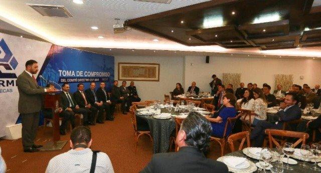 ¡Ofrece gobernador a empresarios zacatecanos apertura, transparencia y trabajar de la mano para propiciar una mejor economía!