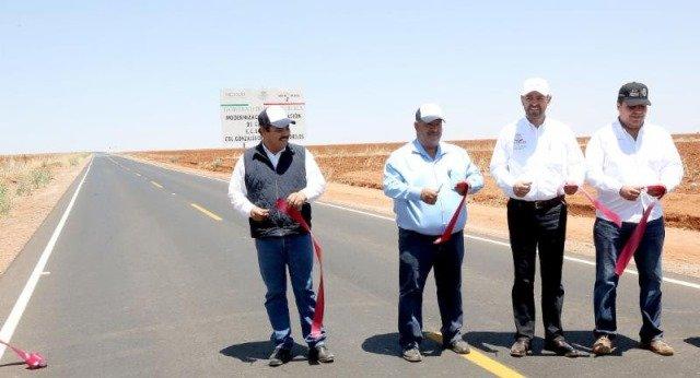 ¡Alejandro Tello entregó obras carreteras, apoyos alimentarios y anuncia que el Hospital General de Sombrerete estará en funciones a finales de año!