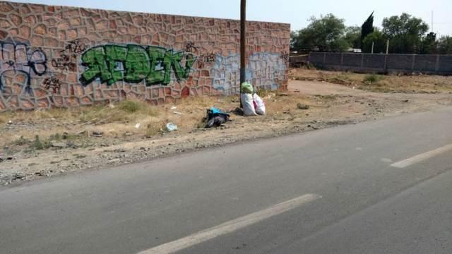 ¡Encontraron desmembrado a un hombre en Fresnillo junto con un narco-mensaje!