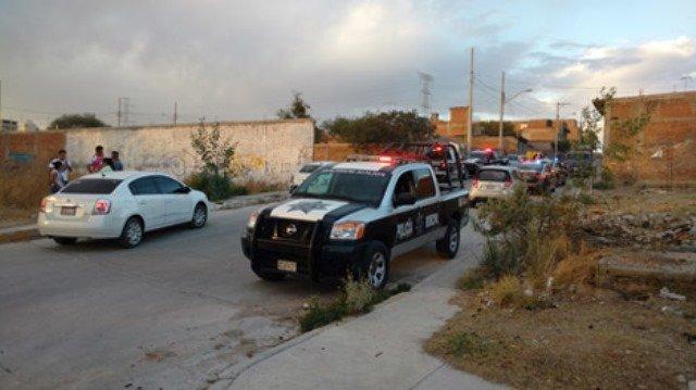 ¡Espectacular movilización policiaca tras balacera en Aguascalientes!