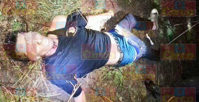 """¡Degollaron y ejecutaron de un tiro en la sien a """"El Rojo"""" en Lagos de Moreno!"""