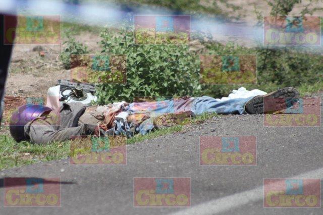 ¡Trágica muerte de un motociclista en el cruce Lagos-Unión de San Antonio!