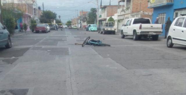 ¡Muere un ciclista al caer de su bicicleta en Aguascalientes!