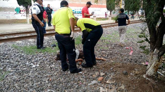 ¡Sexagenaria muere tras ser impactada por el tren en Aguascalientes!