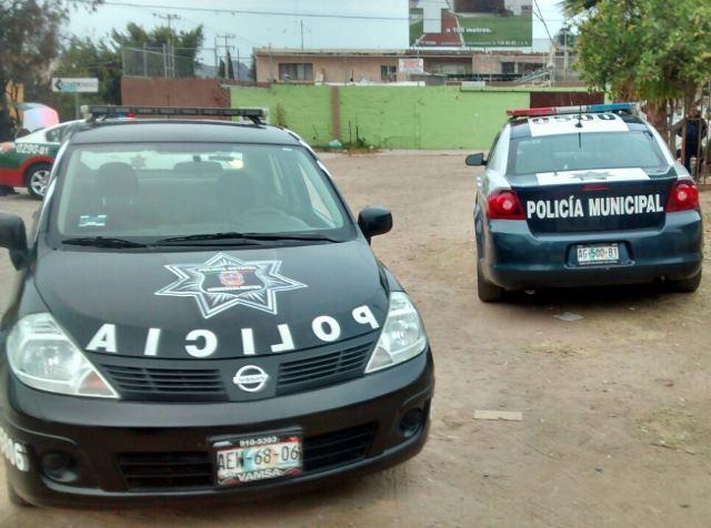 ¡Asaltan chatarrera y en persecución detienen a dos en Aguascalientes!